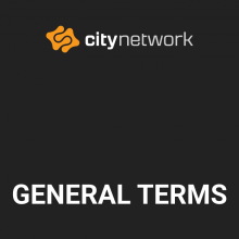 City Network General Terms and Conditions for Public City Cloud